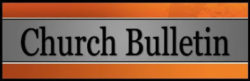 Church Bulletin (Blog edition) First Sunday after Easter