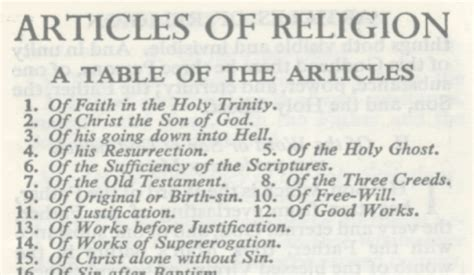 The XXXIX Articles of Religion and Catholicity